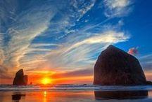 Sunrises & Sunsets, i do love. <3 / by Penny Douglas