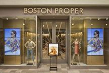 Boston Proper Boutiques / A sneak peek behind the scenes of our new, unforgettable botuiques! / by BOSTON PROPER