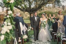 Old Hollywood wedding at Pasadera country club on SMP / Classic, timeless wedding reminiscent of an old Hollywood movie held in the old world setting of Pasadera country club- now known as the Jack Nicklaus golf club in Monterey. Colors were always chic white and green.
