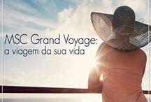 Grand Voyage / Já imaginou conhecer dois continentes em apenas uma viagem? A MSC Cruzeiros oferece diversas opções entre Europa e Brasil, além de outros destinos.