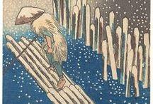 Hiroshige & Hokusai / by Linda Borger
