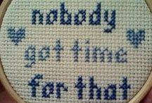 Cross Stitch Patterns / by Rachelle' White