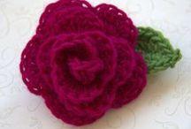 Crochet Flowers / by Marie Herbert