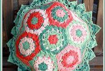 Crochet Pillows / by Marie Herbert