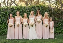 Beautiful blush wedding at Carmel valley ranch on SMP / This wedding was soft and romantic. The accent colors of silver were just the right amount of feminine for this lovely wedding.