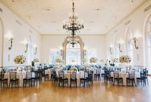 Chic all white naval post academy wedding photographed by http://heidiryder.net / An all white modern classic wedding. Full of roses and hydrangea.