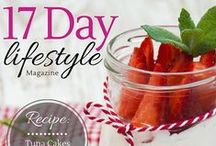 17 Day Lifestyle Magazine / 17 Day Lifestyle Magazine is all about the 17 Day Diet. This free magazine is available in the Apple iTunes store and Google Play for Android.  Read about success stories, weight loss tips, recipes and more!