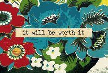 words / by Myra Foxworth