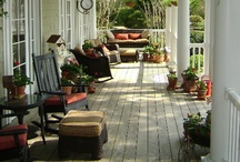 Front Porch and Backyard