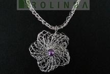Portfolio Sieraden (Jewelry) / Klein overzicht van sieraden (met of zonder bloemen) ontworpen en gemaakt door Bloematelier Rolinda uit Barneveld
