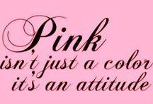 i <3 pink!