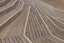 bench - paving / by cielarchitectes