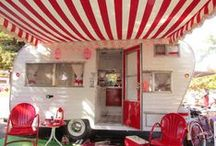 "Lucy ~ Vintage Trailer Renovation ~ Glamping! / Just acquired ""Lucy"", a 1965 KonKwest Camper made here in Englewood, Colorado...   A project for our glamping fun!!!!"