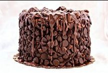 Chocolate, Chocolate, and More Chocolate / Chocolate chips, chocolate flavored, drenched in chocolate, smothered in chocoloate, it's all here.