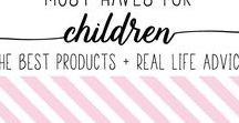 Must Haves for Children - The Best Products + Real Life Advice / We are MAMAS sharing the very best products, gear, crafts, kids activities, recipes, and parenting tips on Pinterest with other MAMAS <3 ★ RULE: Pin one, share one. For every pin you post, you must post someone else's pin on your board(s) ★ To join this board, you must follow the board, then message me a link to your profile. Please no more than two pins per day. Thanks and happy pinning!