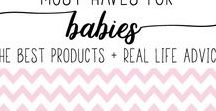 Must Haves for Babies - The Best Products + Real Life Advice / All the best baby gear, baby advice, and ideas for a healthy and happy baby!  ★ RULE: Pin one, share one. For every pin you post, you must post someone else's pin on your board(s) ★ To join this board, you must follow the board, then message me a link to your profile. Please no more than two pins per day. Thanks and happy pinning!