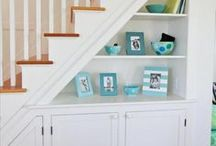 *Mini Spaces* / Don't know what to do with that unused corner?  Or maybe space in your home is generally tight.  There's no end to the possibilities for these oft-neglected small spaces...