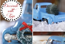 Winter Holidaze / Festive Christmas and winter holiday tips, DIY, decor, crafts and gifts.  / by Christina at I Gotta Create!