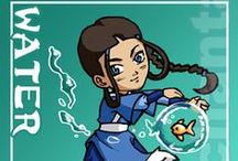 Avatar: The Last Airbender and The Legend of Korra