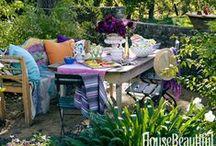 Garden Space, Garden Flowers & Al Fresco Dine / by Zaida San Gil