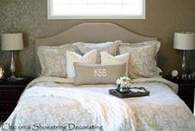 DIY Bedroom Decor / DIY Bedroom Decor: Bedroom Ideas, Decor, Decorating Inspiration and Tutorials on Pinterest.
