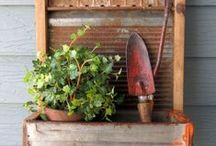 """DIY Garden / DIY Garden: Do It Yourself Gardening, DIY Garden Decor, DIY Garden Inspiration, Tutorials and Projects on Pinterest. Contributors: I've invited a total of 55 bloggers to join this board. Feel free to pin all things gardening! No sponsored pins or advertisements please. Pin limit is """"three per day"""". Thank you! ~ Christine"""