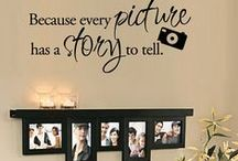 DIY Gallery Wall / DIY Gallery Wall: DIY Gallery Wall Display Ideas, Photo Displays, Gift Ideas, Photo Projects & Gallery Wall Inspiration, Ideas & Tutorials on Pinterest.