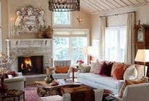 Living Room Ideas / Living Room Decorating Ideas & Inspiration for Country, Glam, French Country, Farmhouse, Shabby Chic and Cottage Style Living Room Design on Pinterest. / by DIY BOARDS
