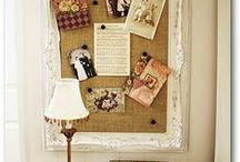 DIY Bulletin Boards / DIY Bulletin Boards: Bulletin, Memo/Message/Dream Board Ideas, Inspiration & Tutorials on Pinterest.