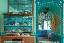 ColorTurquoise/Rooms&Decor / by Zaida San Gil