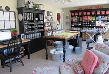 Craft Studios & Tools / Dream studios, office space, craft rooms, craft and sewing tools, organization tips, and storage ideas and projects. Need I say more? / by Christina at I Gotta Create!