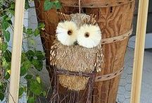 Owl Crafts / Owl Crafts - Cute DIY Owl Crafts, and Decor- I Love Owls!
