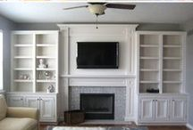 DIY Built-ins / DIY Built-in Shelves/Storage: Built-in Shelves, Storage & Shelving Tutorials on Pinterest. / by DIY BOARDS