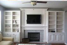 DIY Built-ins / DIY Built-ins: Built-in Shelves, Storage & Shelving Tutorials on Pinterest.