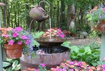 DIY Water Fountains / DIY Water Fountains and Water Features for the Garden and Home
