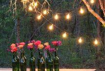 DIY Outdoor Lighting / DIY Outdoor/Party Lighting / by DIY BOARDS