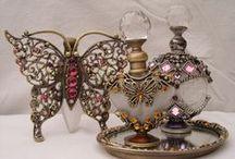 Vintage Perfume Bottles / Antique/Vintage & Jeweled Perfume Bottles