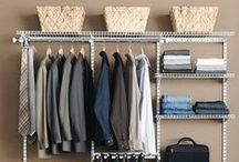 DIY Closet Organization / DIY Closet Organization: Closet/Dressing Room/Clothing Organization Ideas, Tutorials & Tips on Pinterest. / by DIY BOARDS