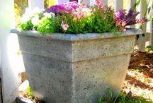 DIY Flower Pots/Planters / DIY Flower Pots/Planters Tutorials, Building Instructions, Plans & Decorating Ideas