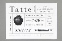 Food & Graphic Design Note / design and illustration for food products, venues and publishing.