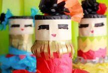 Kids Craft Camp / Fantastic & fun crafts for children and teens! / by Christina at I Gotta Create!