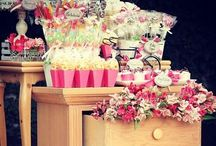 Candy tables  / Some of the cant tables we've done.