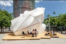 Architecture - Pavilions / Pavilions setup in a non exhibition or trade show environment