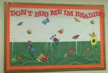 reading bulletin boards / by Chris Mosso Moyer