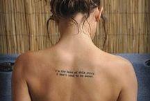 Tattoo Lovin / by Allison Jean