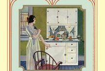 hoosier & old cabinets