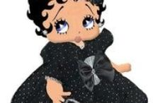 Betty Boop as Baby, Child or Teen / This board is for Betty Boop baby and child images