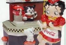 Betty Boop Merchandise / Not actual pics - merchandise with Betty Boop themes / by Jan Tallent