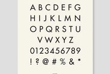Just my type: Typeface design / Typefaces of choice, for graphic design. Font foundries and type designers. The best of.