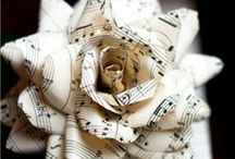 Let the Music Play / music-themed craft projects / by Christina at I Gotta Create!